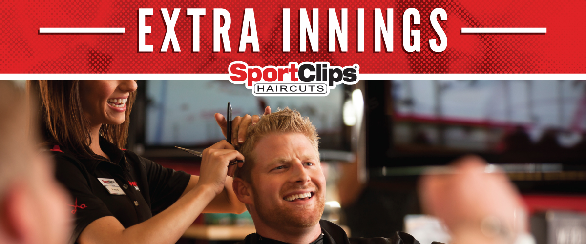 The Sport Clips Haircuts of Ridgeway Extra Innings Offerings